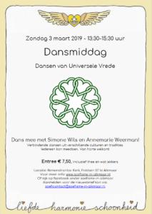 Flyer Dansavond in PDF