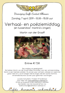 Flyer Verhalenmiddag 7 april 2019