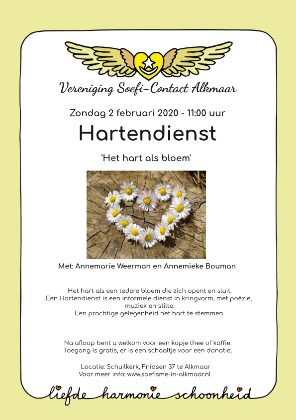 Flyer Hartendienst 2 feb 2020